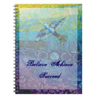 Believe Achieve Succeed Journal