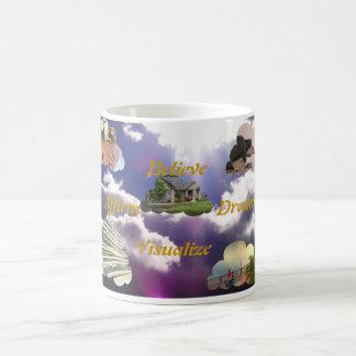 Believe, Affirm, Dream, Visualize Coffee Mug
