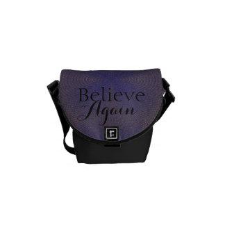 Believe Again - Messenger Bag