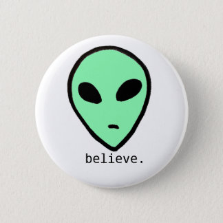 Believe Alien Button