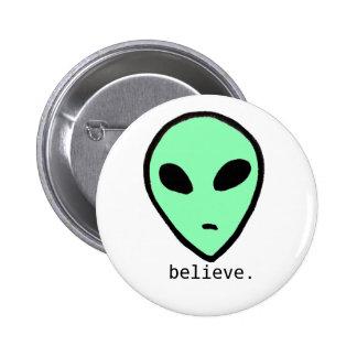 Believe Alien Button
