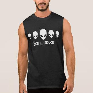 Believe Aliens Sleeveless Shirt