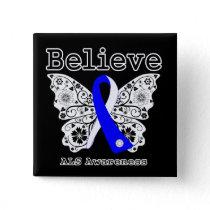 Believe ALS Awareness Button