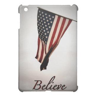 Believe!-American Flag iPad Mini Covers