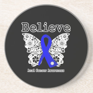 Believe - Anal Cancer Butterfly Coaster
