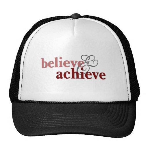 Believe and Achieve Trucker Hat