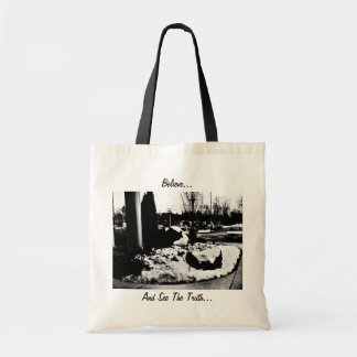 Believe and See The Truth Tote Bag