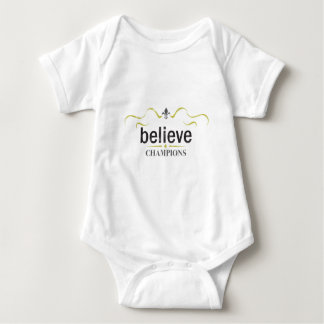 believe baby bodysuit