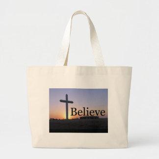 Believe Tote Bags