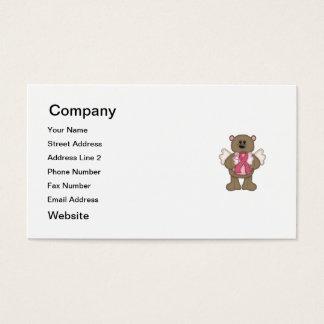Believe Bear (brown) Business Card