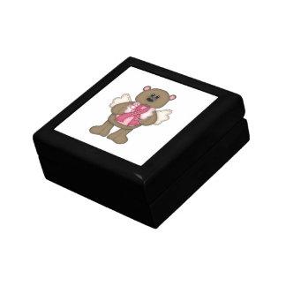 Believe Bear (brown) Keepsake Box