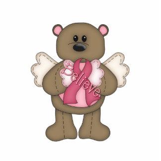 Believe Bear (brown) Statuette