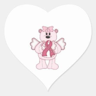 Believe Bear Heart Sticker