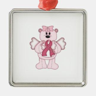 Believe Bear Metal Ornament