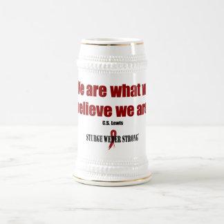 Believe Beer Stein