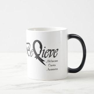 "Believe ""Black"" Magic Mug"