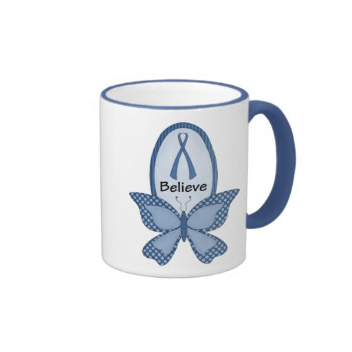 Believe- Blue Awareness Coffee Mug