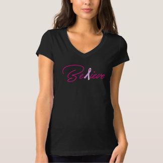 Believe Breast Cancer Awareness Shirt