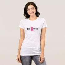 BELIEVE BREAST CANCER SURVIVOR T-Shirt