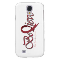 "Believe ""Burgundy - Gift Items"" Samsung S4 Case"