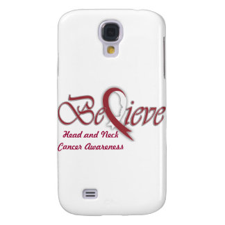 "Believe ""Burgundy white Gift Items"" Samsung Galaxy S4 Cover"