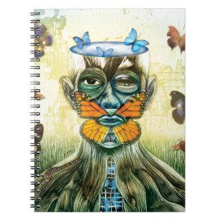 BELIEVE Butterflies Notebook