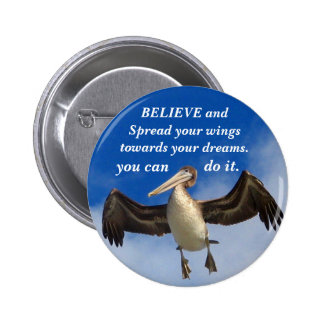Believe_Button Pin