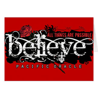 Believe - by Pacific Oracle Card