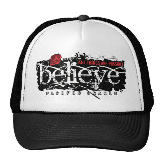 Believe - by Pacific Oracle Mesh Hat