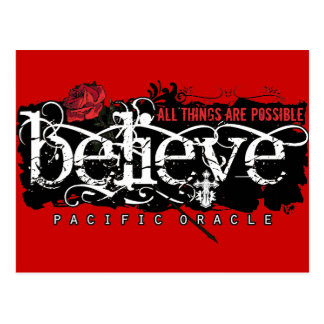 Believe - by Pacific Oracle Post Cards