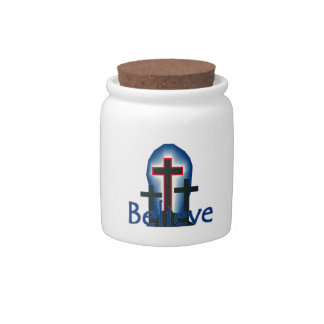 Believe Candy Jars