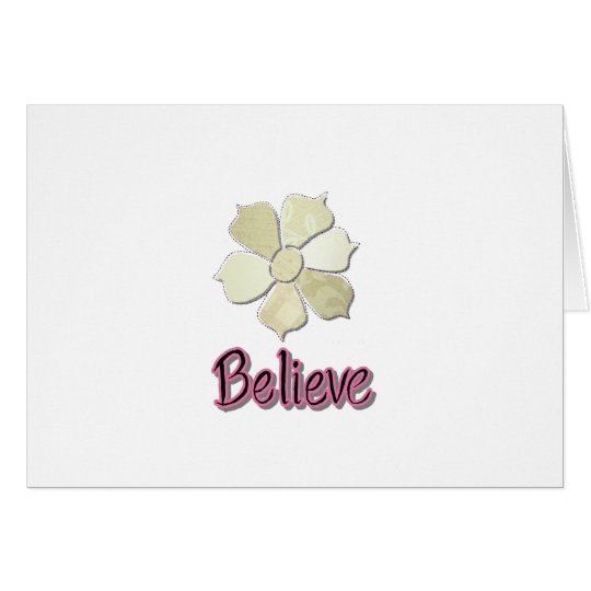 Believe! Card