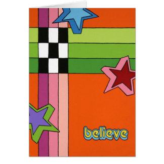 """Believe"" Card"