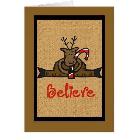 believe card