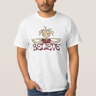 Believe Christmas Angel T-Shirt