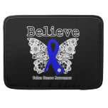 Believe - Colon Cancer Butterfly MacBook Pro Sleeves