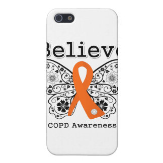 Believe COPD Awareness Covers For iPhone 5
