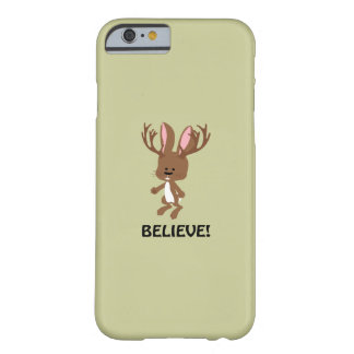 Believe! Cute Jackalope Barely There iPhone 6 Case