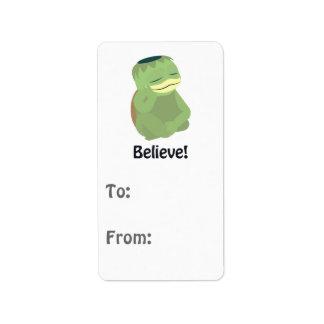 Believe! Cute Kappa Label