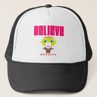 Believe-Cute Monkey-Morocko Trucker Hat