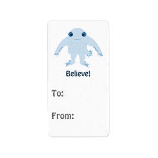 Believe! Cute Ningen Label