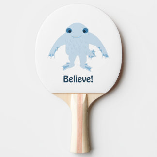 Believe! Cute Ningen Ping Pong Paddle