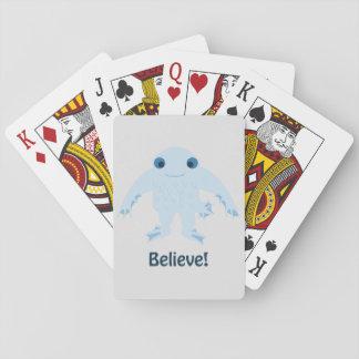 Believe! Cute Ningen Poker Cards