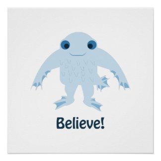 Believe! Cute Ningen Poster