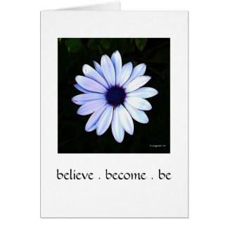 Believe Daisy Card
