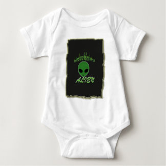 Believe Do Not But Real Alien with Background Baby Bodysuit