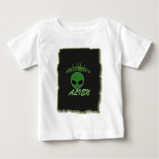 Believe Do Not But Real Alien with Background Baby T-Shirt