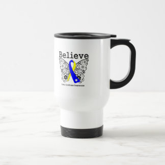 Believe Down Syndrome Awareness 15 Oz Stainless Steel Travel Mug