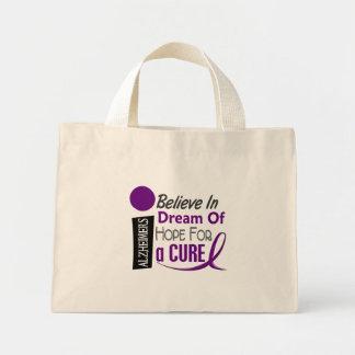 BELIEVE DREAM HOPE Alzheimer's Disease T-Shirts Mini Tote Bag