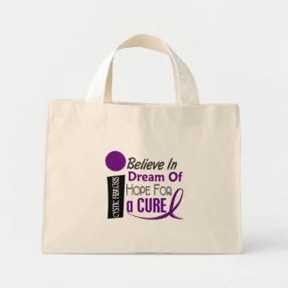 BELIEVE DREAM HOPE Cystic Fibrosis T-Shirts Mini Tote Bag